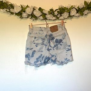 Vintage Levi's Bleach Washed Shorts